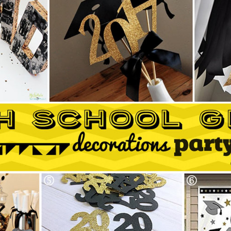 High School Grad Party at Home Ideas