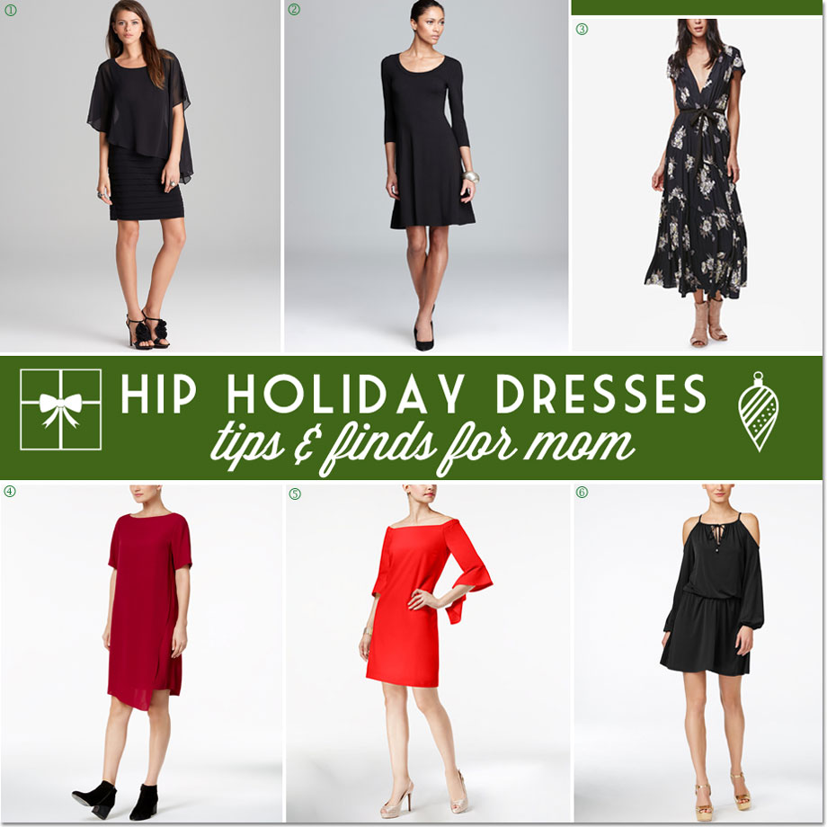 12 Hip Holiday Dresses to Wear for Moms