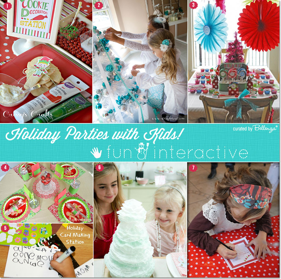 interactive holiday parties with kids from cookie decorating to writing letters to santa - Childrens Christmas Party Decoration Ideas
