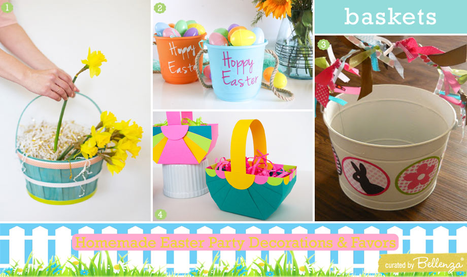 Crafty Easter Basket Ideas