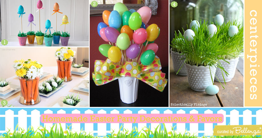 Easy Easter Party Centerpieces