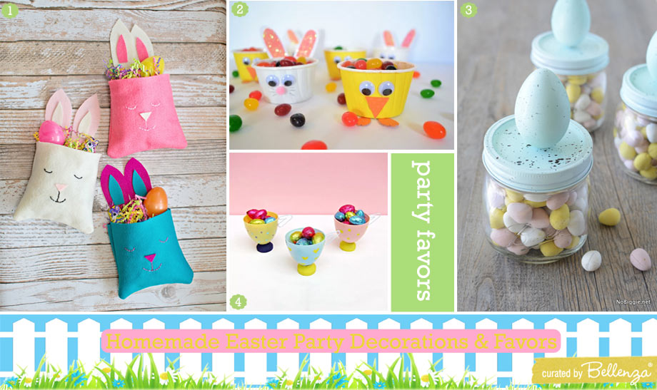 Pretty Easter Favor Packaging
