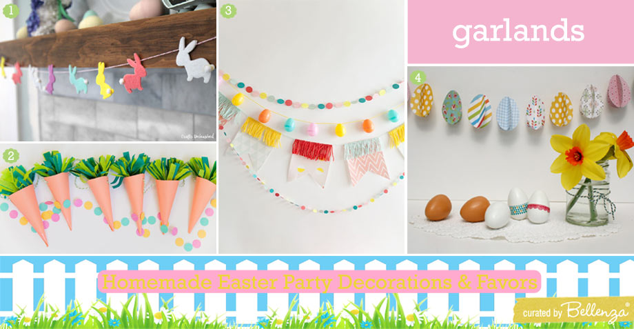 Easy Easter Party Garlands