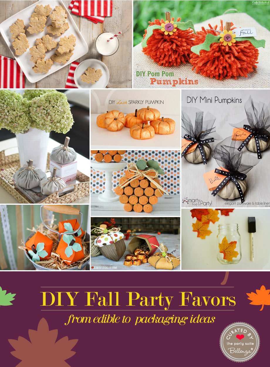 homemade fall favors