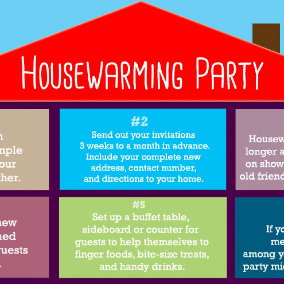 How to Host Your First Housewarming Party by Bellenza.