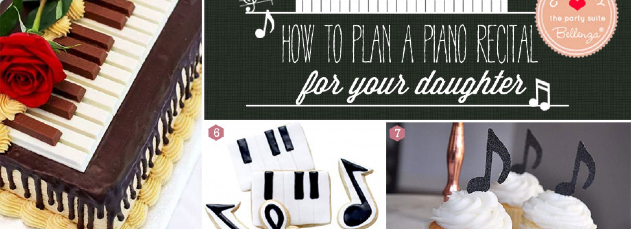 Piano Recital Party Ideas for Daughter