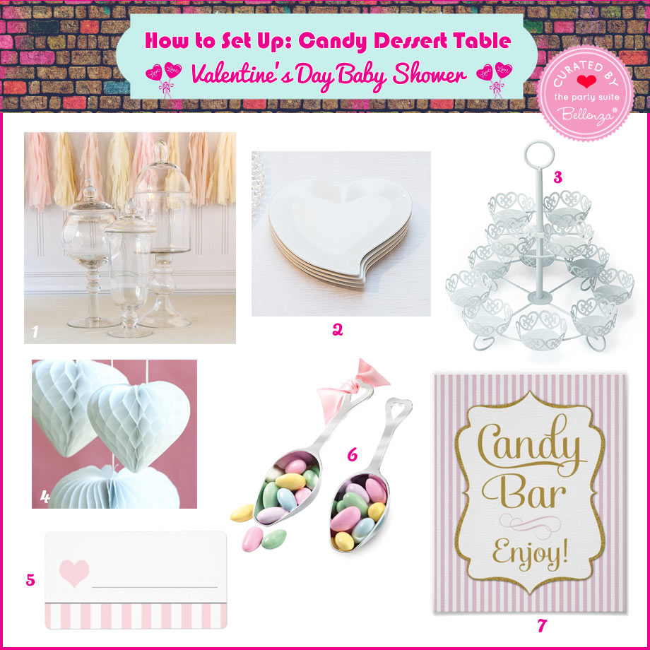 Candy Table Containers and Decorations