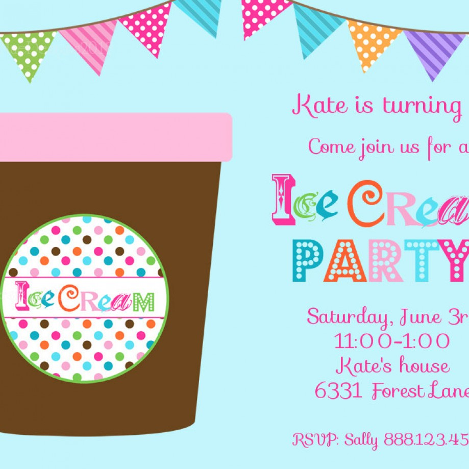Be a Hip Host: How to Plan a Vintage Ice Cream Party for the Kids!