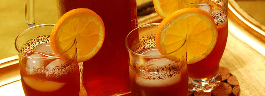 Iced tea drinks for a Southern-inspired MLK celebration.