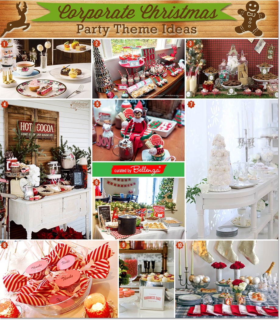 Christmas Party Themes.Unique Corporate Christmas Party Themes