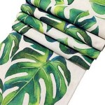 7 - Leaves tablecloth