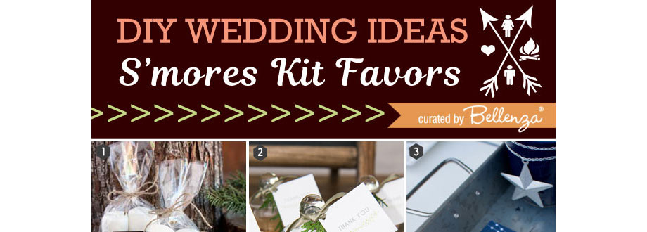 s'mores kit favor ideas