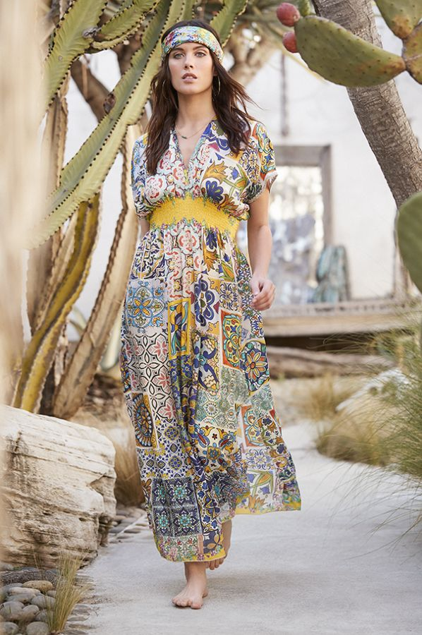 Morocco Dress (from Johnny Was)