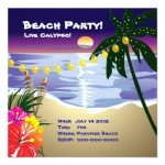 2 - Beach party invitation