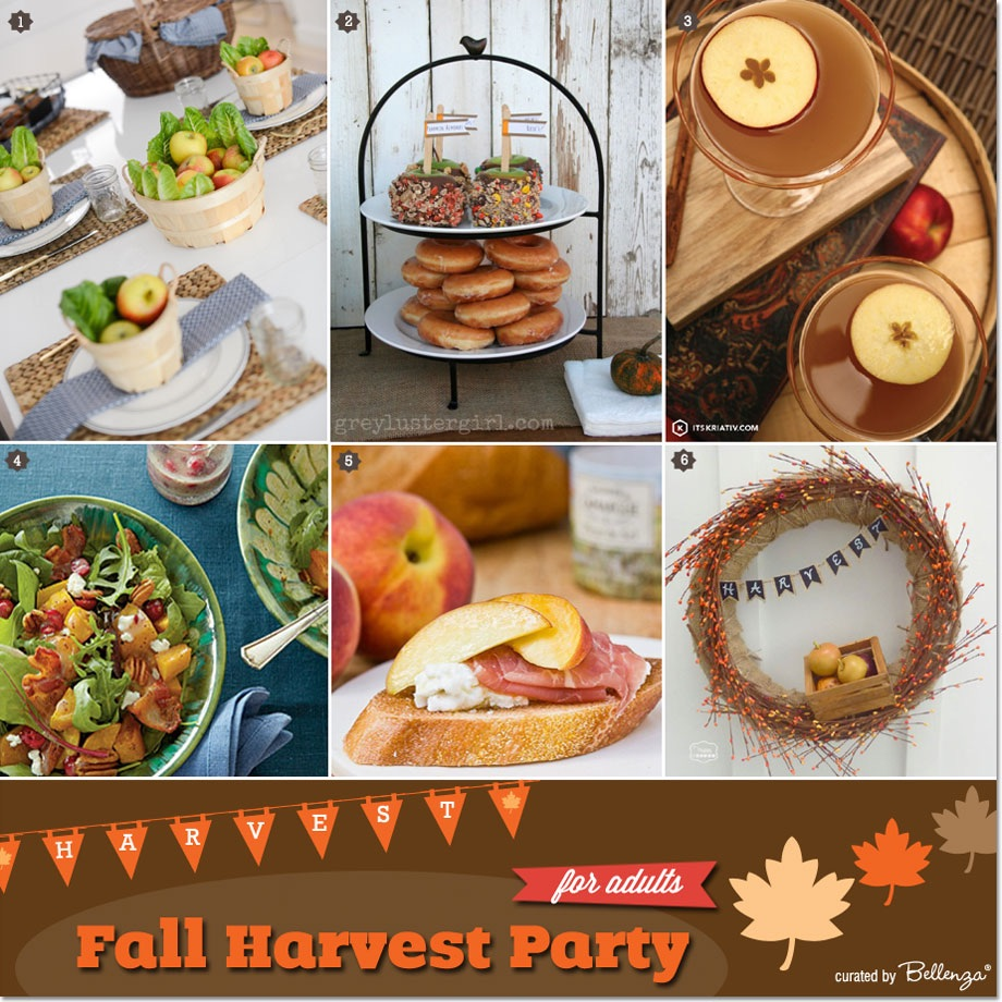 Fall harvest or farm inspired theme