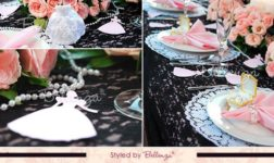 Pink and bl ideasack sweet 16 theme