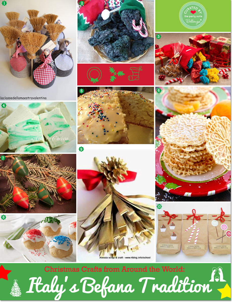 Christmas Around The World Party Ideas Part - 26: Christmas Around The World: Italyu0027s Befana Tradition In Crafts And Treats