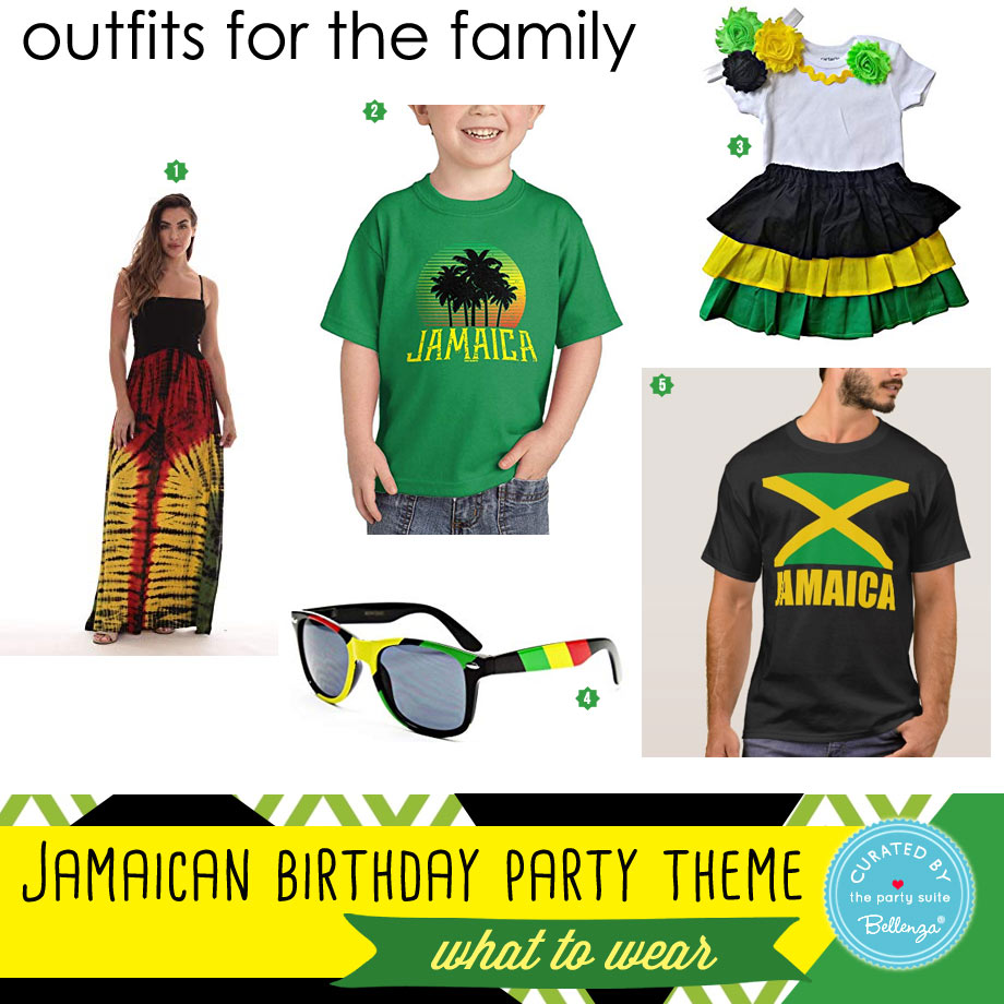 What to wear to a Jamaican birthday party