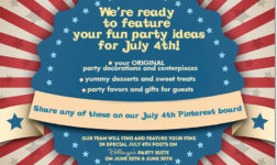 """""""July 4th Party Decor and Treats Fest""""!"""