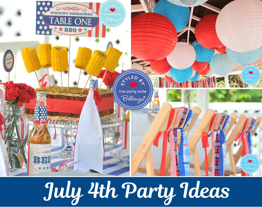 July 4th Entertaining Ideas