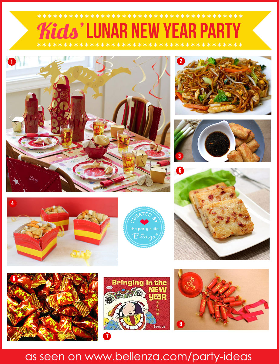 Chinese New Year Party for Kids with Fun Food and Activities