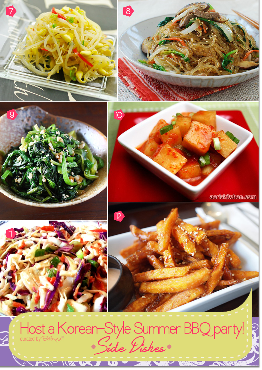 Dinner Party Menu Ideas For 6 Part - 44: Korean Side Dishes With A Fusion Twist From Japchae To Bean Sprout Salad