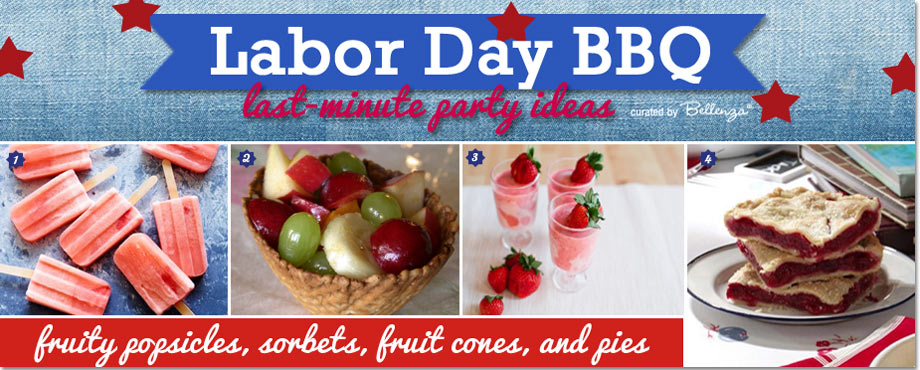 Labor Day Fruit Desserts