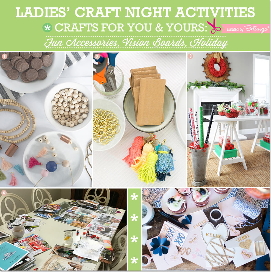 Ladies Craft Night Seasonal Ideas