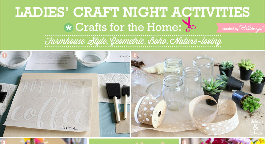 Ladies\' Crafting Night Party Themes