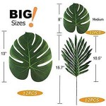 3 - Tropical leaves