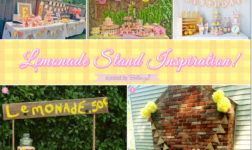 How to Set Up A Lemonade Stand-inspired Dessert Table!