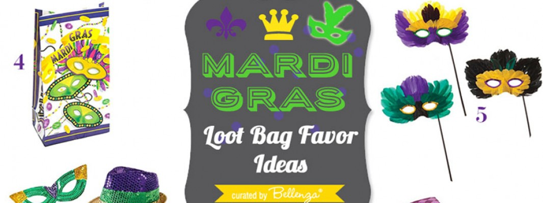 From what gift bags to use to filling ideas for making Mardi Gras loot bags for adults.