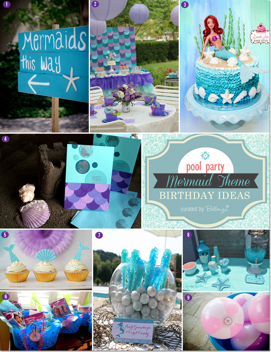 Mermaid Themed Birthday Party Ideas