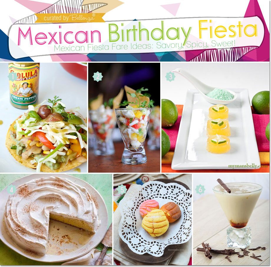 "Come to think of it, Mexican food practically says ""party!"" So just whip up the celebrant's favorites, or order from your nearest Mexican restaurant."