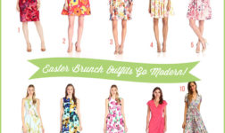 Modern Easter Outfits in Florals // curated by Bellenza