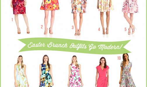 Modern Easter Brunch Outfits In Pretty F..
