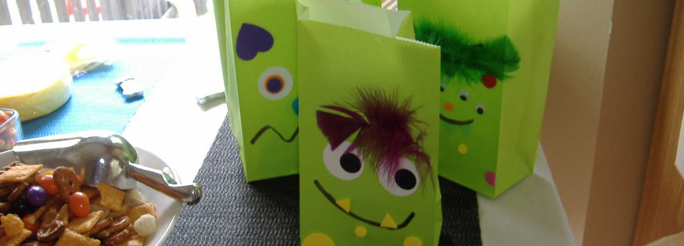 """Monster Mash"" Halloween Party Ideas: The Eyes Have It!"