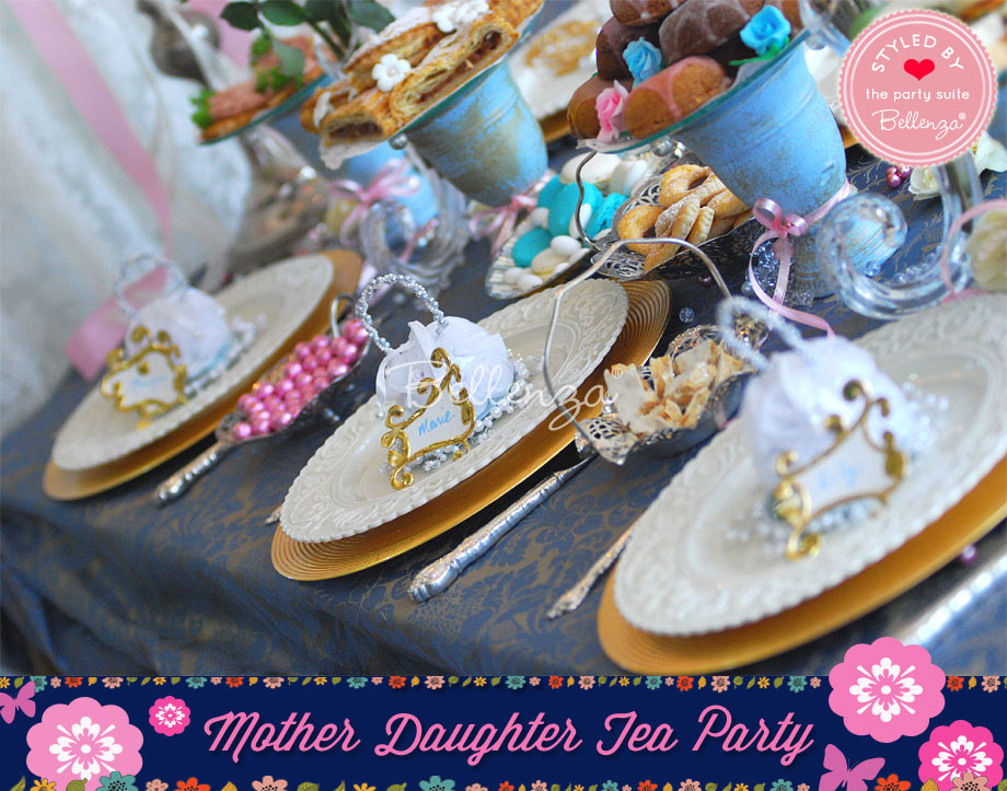 Vintage Tea Party Tablescape Inspiration
