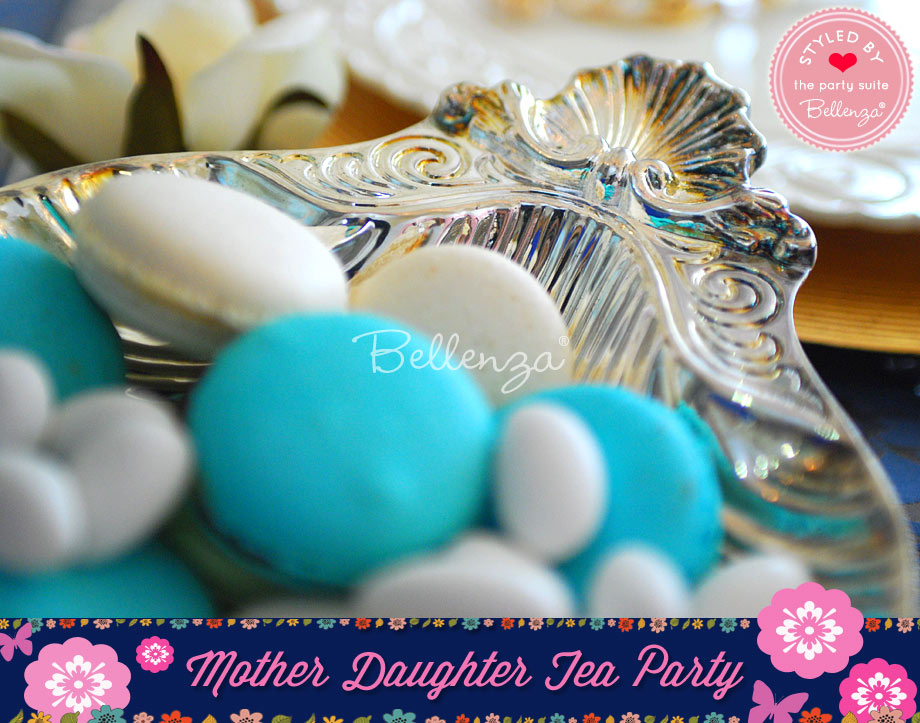 Tea Party Treats with French Flair Like Macarons