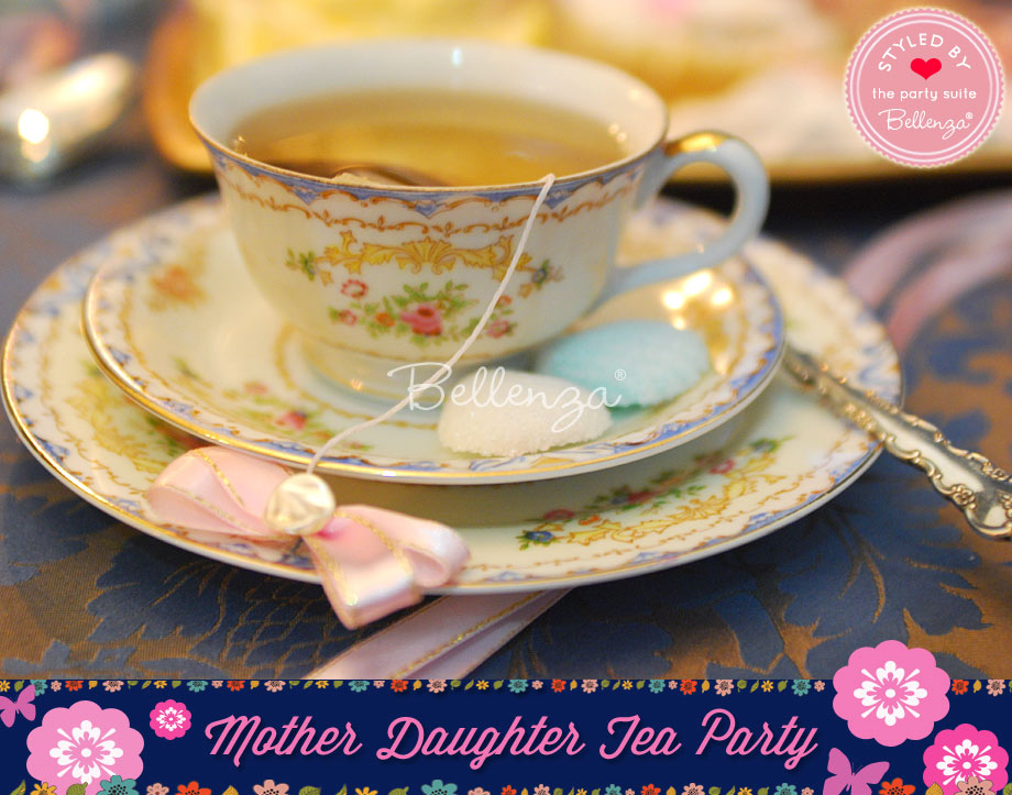 Mommy and Me tea party choices