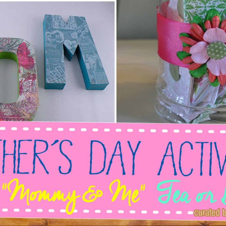 Mothers day tea activities