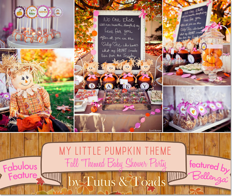 Autumn Inspired Baby Shower Treats And Favors. Mylittlepumpkindesserts