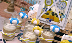 Nautical baby shower sweets by Lynlee's