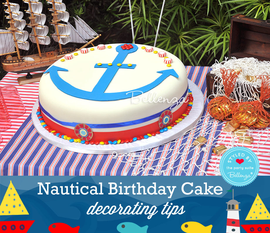 Simple Tips On Decorating A Nautical Birthday Cake