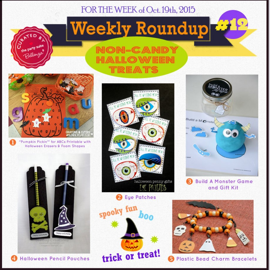 Halloween Gifts & Favors that are NOT Candy!