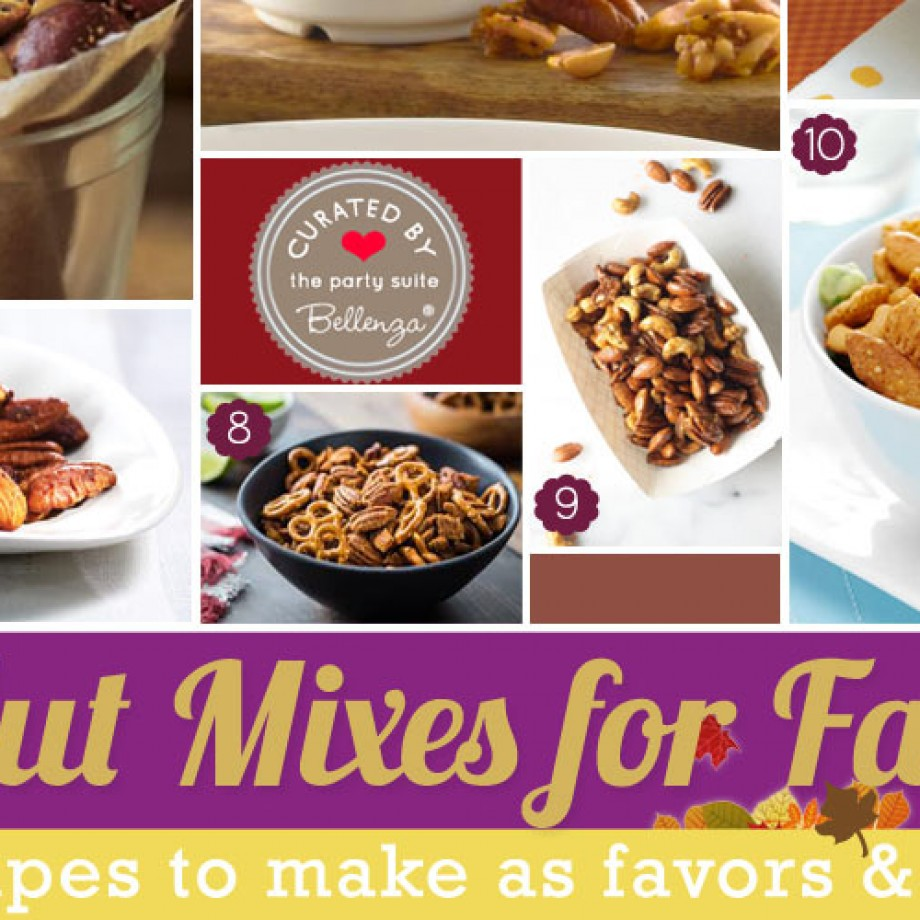 Fall Nut Mix Recipes: Homemade Gifts to Eat!