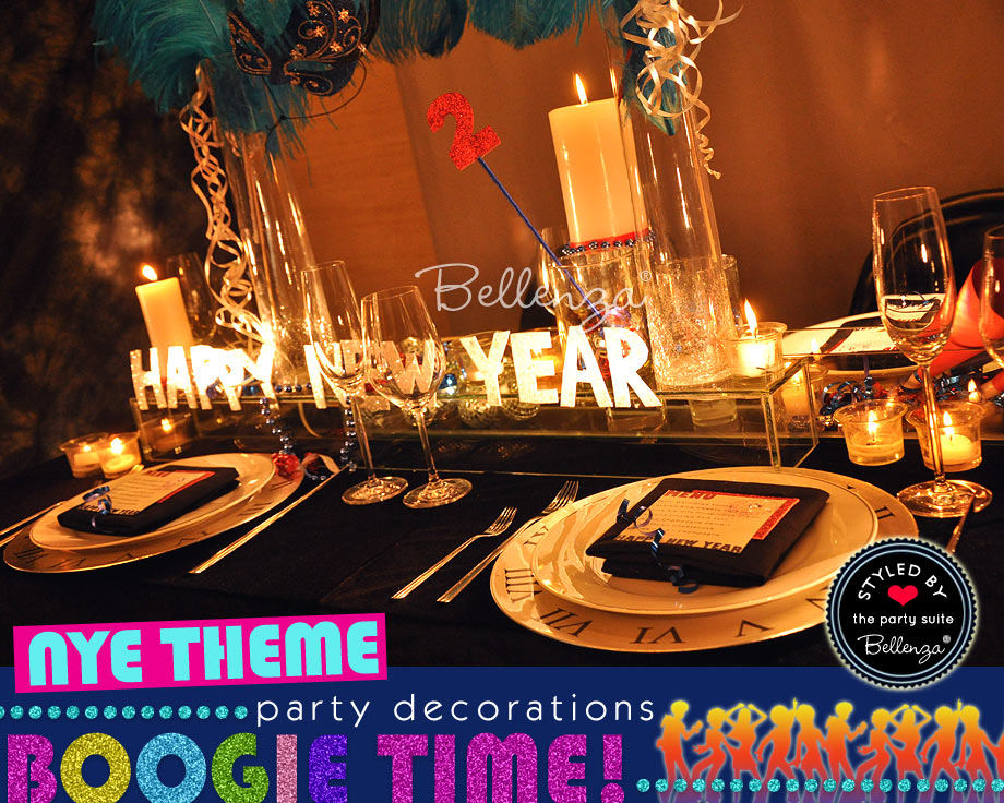 New Year's Eve Party Disco Tablescape