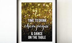 NYE Party Signage by blursbyaiShop on etsy
