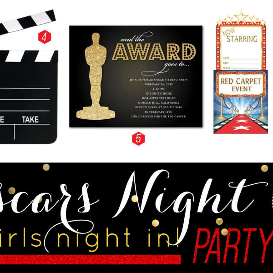 A Glam Girls Night In! Ideas for an Oscars Party Theme