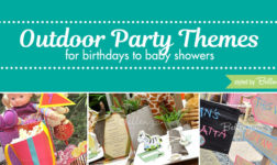 Outdoor Party Themes for Baby Showers to Kid's Birthdays